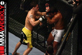 Frank Edgar and Tyson Griffin at UFC 67