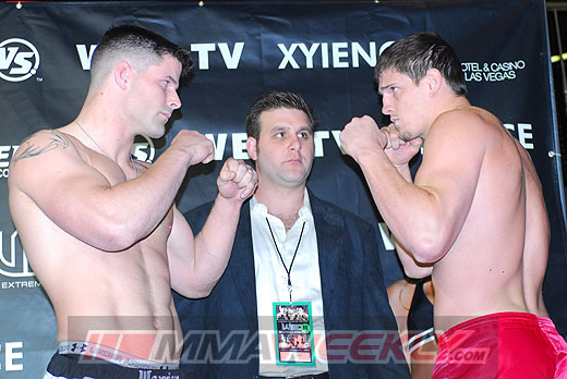 Brian Stann and Steve Cantwell at WEC 26