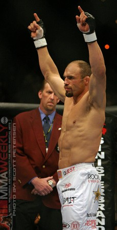 Randy Couture at UFC 52