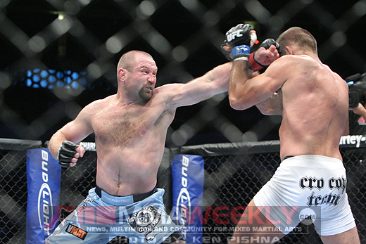 Vladimir Matyushenko and Pokrajac at UFC 103