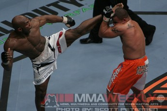 Marvin Eastman and Terry Martin at UFC 81