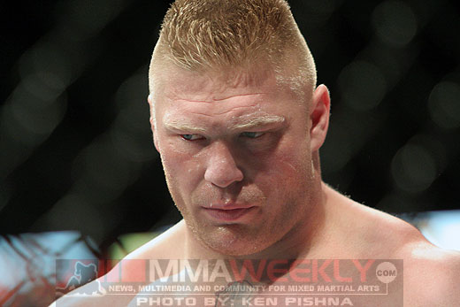 Brock Lesnar at UFC 87