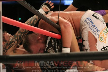 Renato Babalu Sobral and Mike Whitehead at Affliction Banned