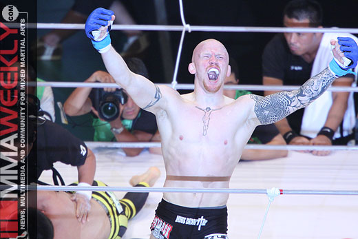 Joachim Hansen defeats Shinya Aoki at Dream 5