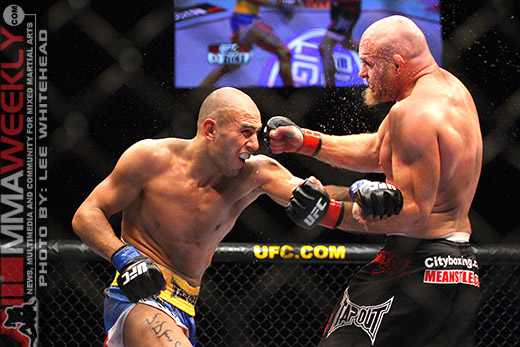 Brandon Vera and Keith Jardine at UFC 89