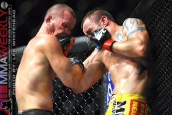 Chris Lytle and Paul Taylor at UFC 89
