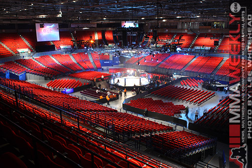 National Indoor Arena in Birmingham, England site for UFC 89