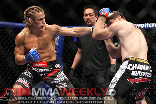 Urijah Faber and Matt Brown at WEC 41