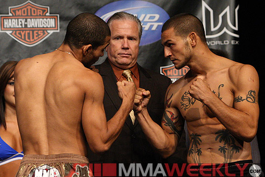 Jose Aldo and Cub Swanson at WEC 41