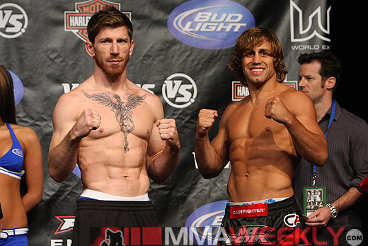 Mike Brown and Urijah Faber at WEC 41