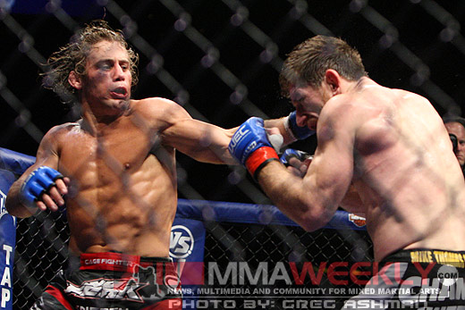 Urijah Faber and Mike Brown take the Fight of the Night honors at WEC 41