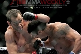 Rich Franklin and Vitor Belfort at UFC 103