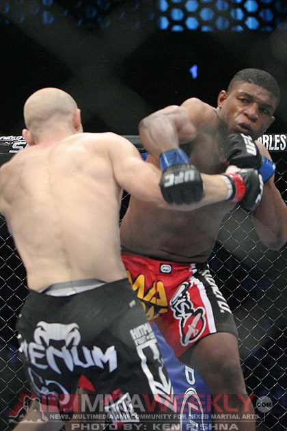 Paul Daley and Martin Kampmann at UFC 103