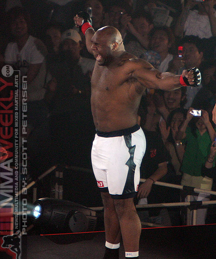 Bob Sapp at HERO's 2