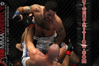 James Wilks and Matt Brown at UFC 105