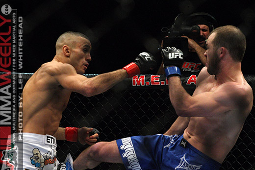 Terry Etim and Shannon Gugerty at UFC 105