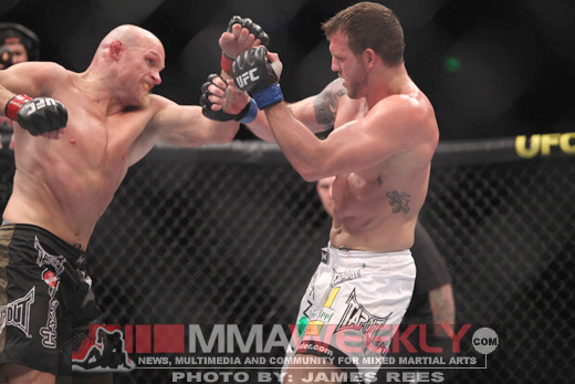 Keith Jardine and Ryan Bader at UFC 110