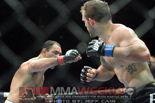 Rogerio Nogueira and Ryan Bader at UFC 119