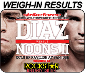 Strikeforce Diaz Noons