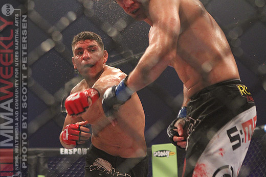 Nick Diaz Strikeforce KJ Noons