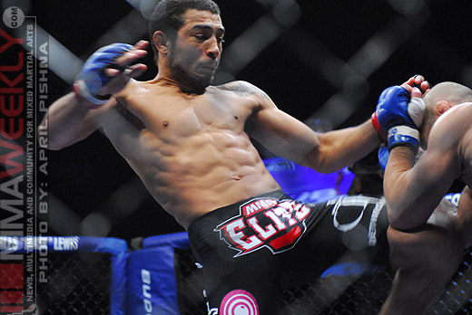 Jose Aldo and Manny Gamburyan at WEC 51
