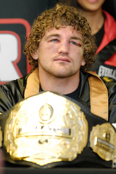 Ben Askren at Bellator 33