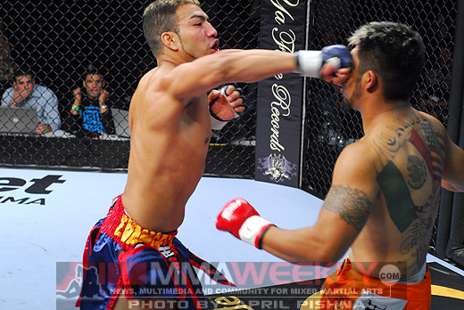 Billy Evangelista Strikeforce MMA