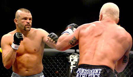 Chuck Liddell and Tito Ortiz at UFC 47