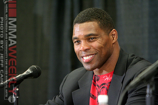 MMA fighter Herschel Walker at Strikeforce