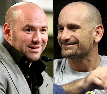 Dana White and Greg Jackson UFC