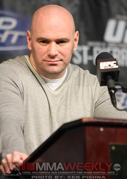 Dana White at UFC 94