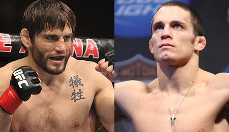 Jon Fitch vs. Jake Ellenberger at UFC 126