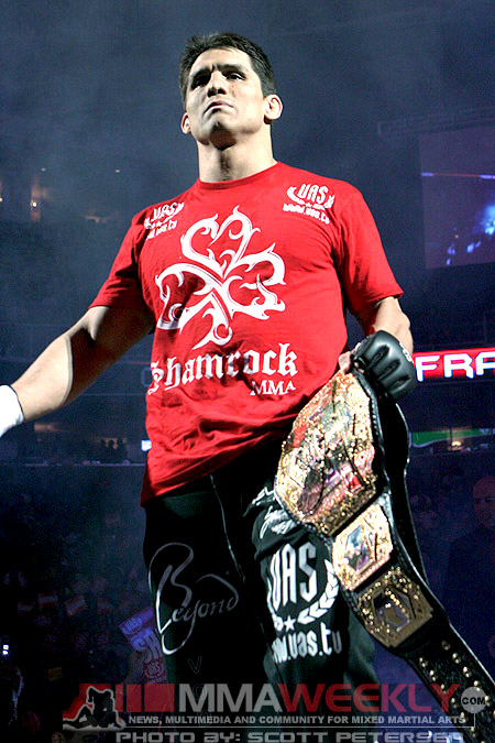 Frank Shamrock former Strikeforce and UFC Champion
