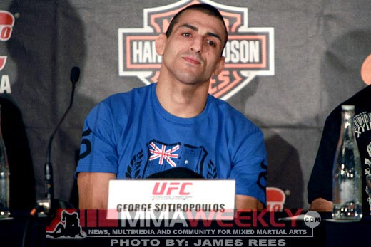 George Sotiropoulos at UFC 110