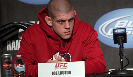 Joe Lauzon at the UFC 123 Prefight Press Conference