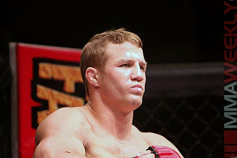 Justin Wilcox at Strikeforce Playboy 2