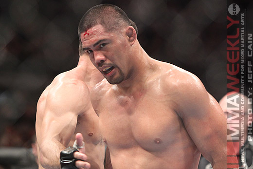 Mark Munoz at UFC 123