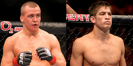 Ross Pearson and Sam Stout UFC 126