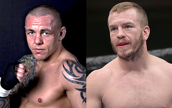 Ross Pearson and Spencer Fisher at UFC 127