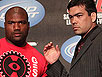 Quinton Rampage Jackson and Lyoto Machida at UFC 123