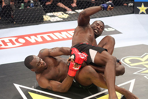 Ovince St. Preux and Antwoin Britt at Strikeforce Challengers 12