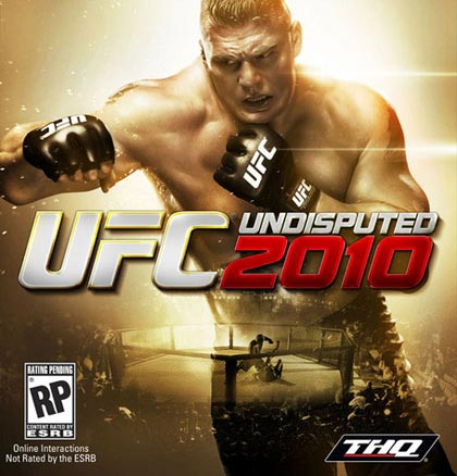 UFC Undisputed 2010 Video Game Cover