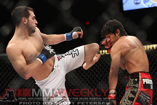 Nick Pace and Will Campuzano at TUF 12 FINALE