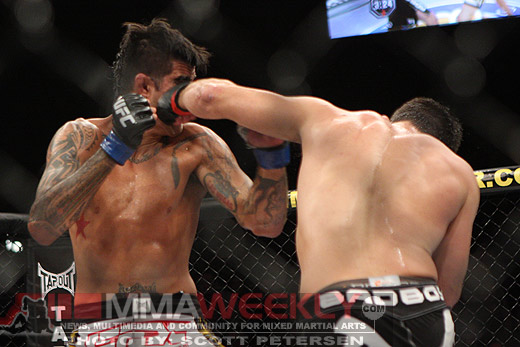 Kendall Grove and Demian Maia