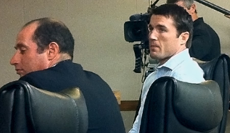Chael Sonnen at Dec. 2 hearing before CSAC