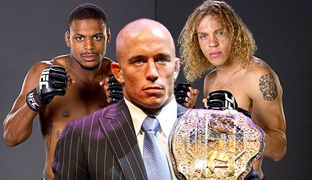 Michael Johnson - Georges St Pierre - Jonathan Brookins TUF 12