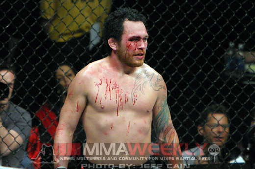 Chris Leben at UFC 82