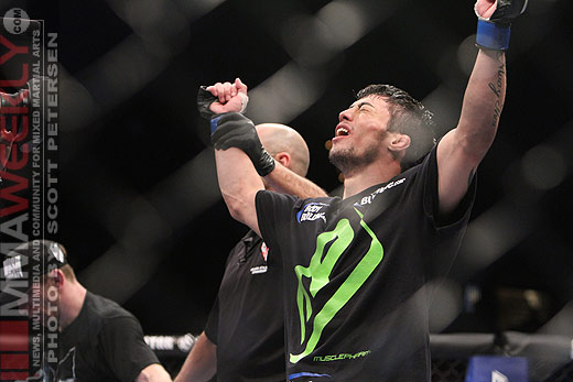 Diego Nunes at UFC 125