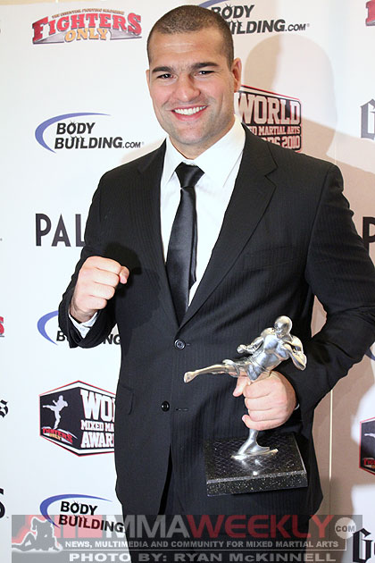 Mauricio Shogun Rua at the 2010 World MMA Awards