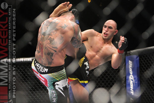 Thiago Silva and Brandon Vera at UFC 125
